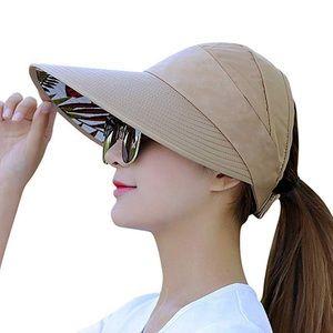 Sun Visor hat for women